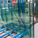 12mm tempered glass with irregular shape 1