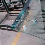 12mm tempered glass with irregular shape 4