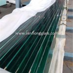 19mm tempered glass polished edges