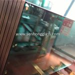 5+9A+5 F green insulated glass 2